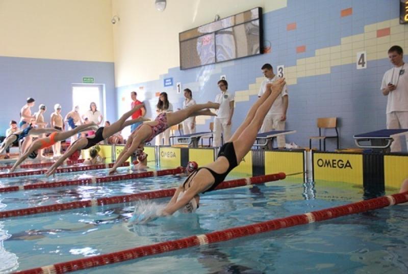 Rekordy młodych pływaków zklubu Wankan