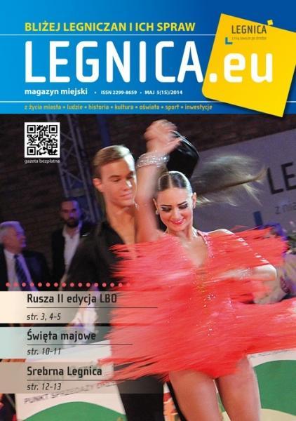 """Majowy magazyn """"Legnica.eu"""" już jest"""