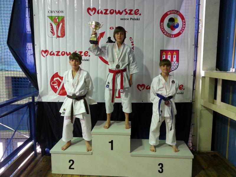 Sukces legnickich zawodników karate