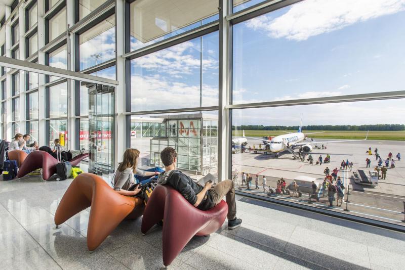 Zapach relaksu na wrocławskim lotnisku