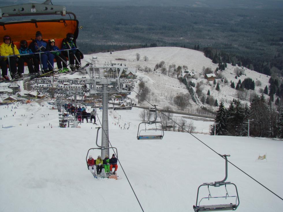 WZieleńcu poprawiają się warunki narciarskie