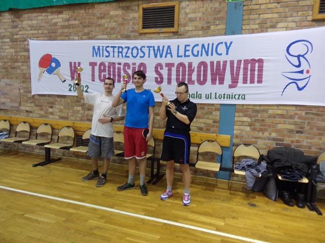 Mistrzostwa Legnicy wTenisie Stołowym
