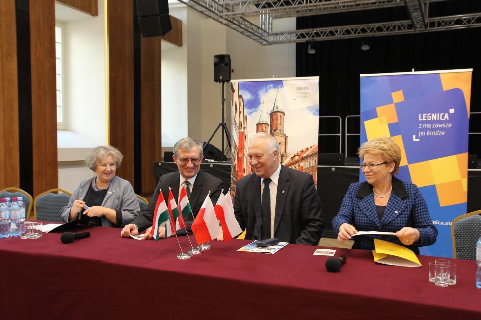 Ambasador Węgier wLegnicy