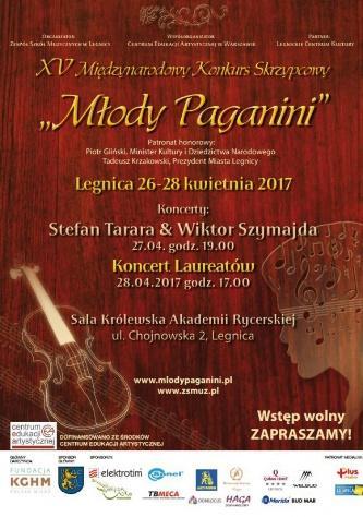 Młody Paganini wSali Królewskiej