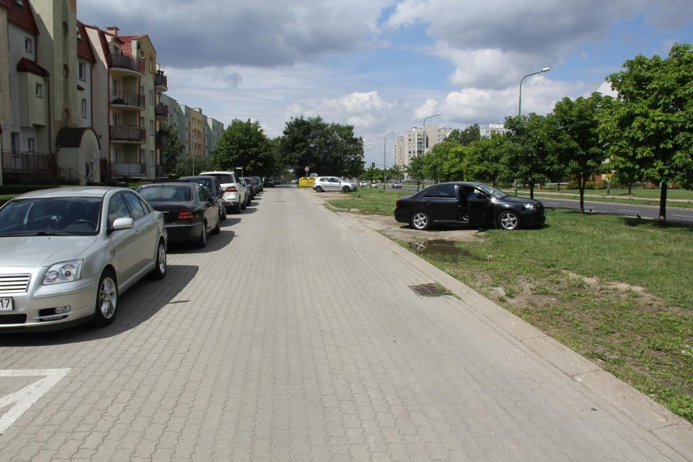 Parking na Grota Roweckiego