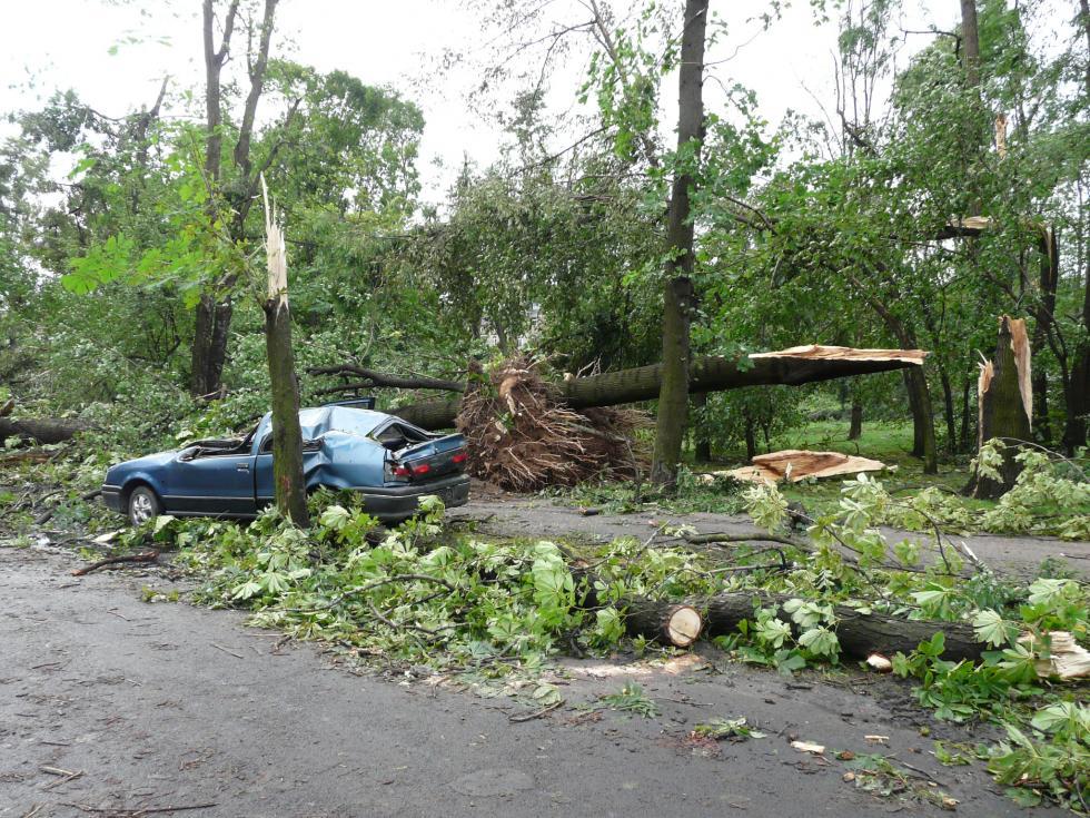 Osiem lat po huraganie