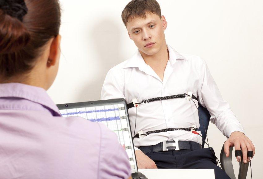 Udowodnienie winy podczas badań wariografem