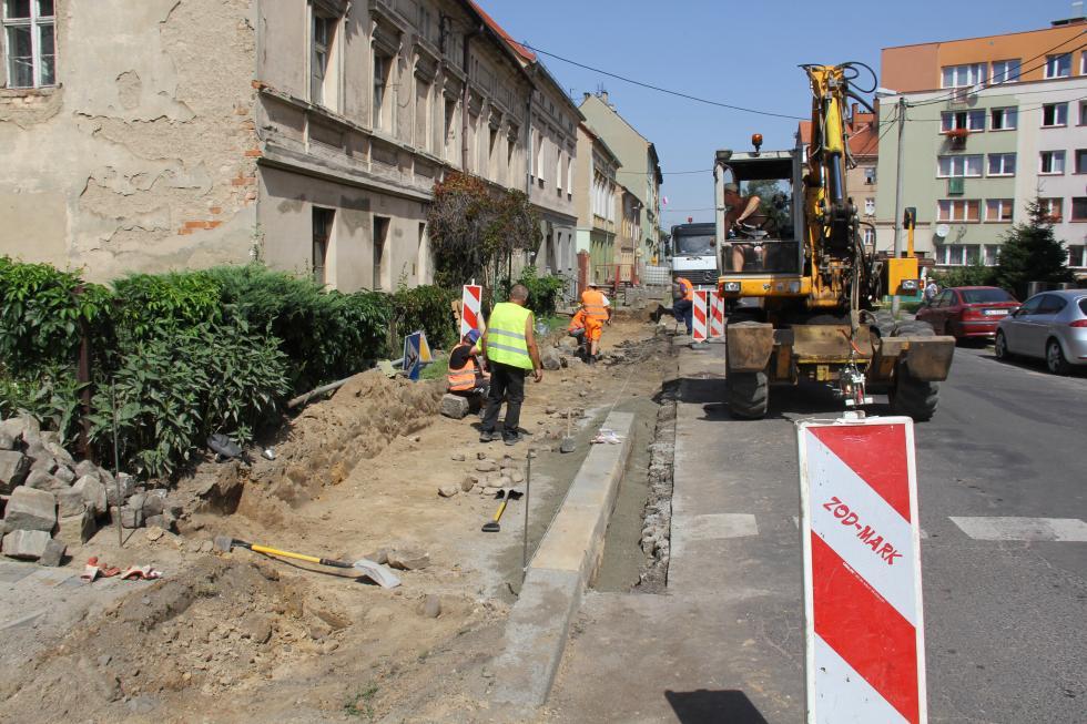 Przebudowy iremonty chodników
