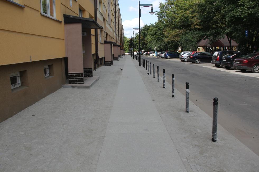 LBO 2017. Chodnik przy ul. Paderewskiego