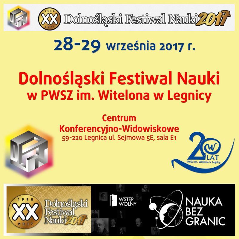 Dolnośląski Festiwal Nauki wPWSZ im. Witelona wLegnicy