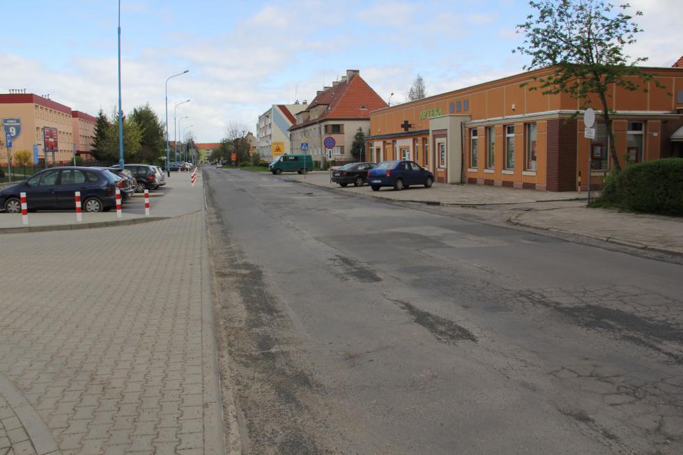 Rusza przebudowa ulicy Marynarskiej