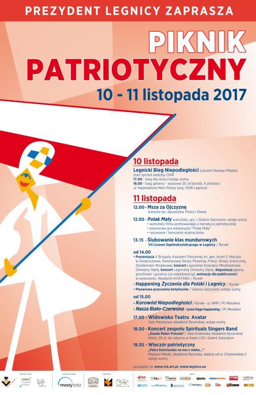 Legnickie obchody Narodowego Święta Niepodległości 2017