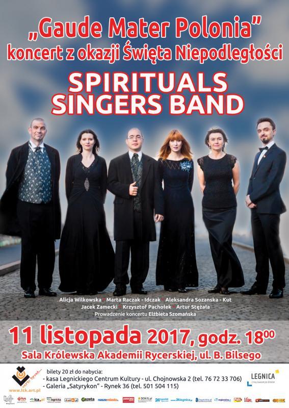 Spirituals Singers Band patriotycznie wLegnicy