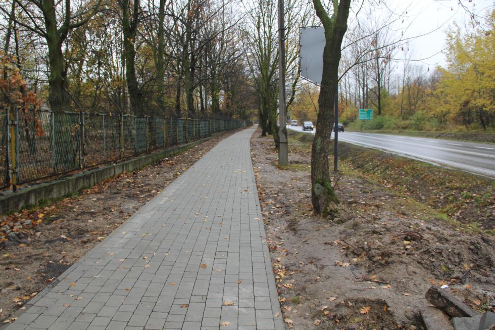 Przebudowa chodnika przy ul Złotoryjskiej
