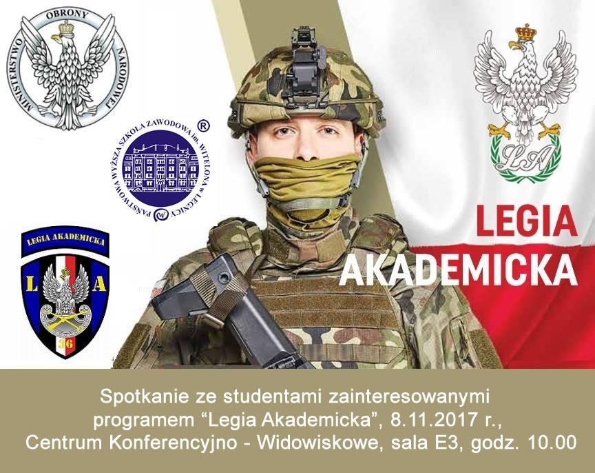 Legia Akademicka wPWSZ im. Witelona wLegnicy