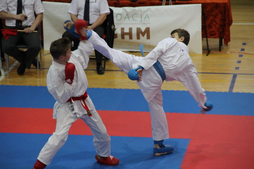 Karatecy walczyli wLegnicy