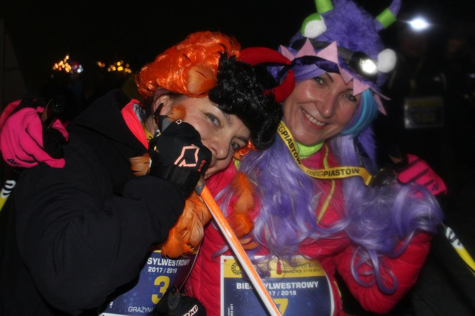 Szalona noc sylwestrowa na biegówkach - zobacz zdjęcia
