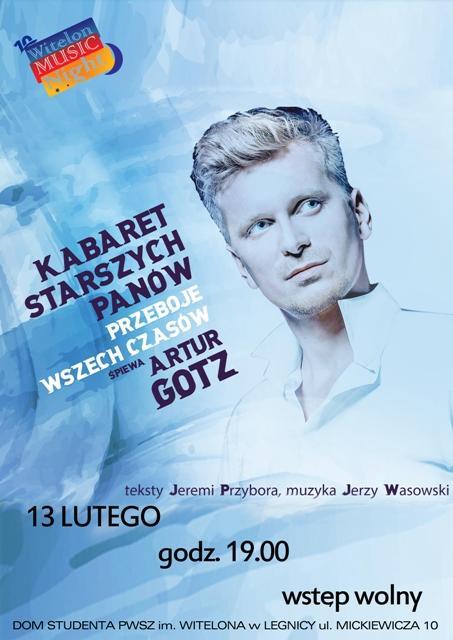 Kabaret Starszych Panów przeboje wszech czasów śpiewa Artur Gotz