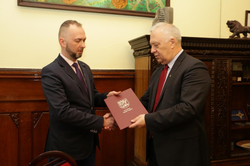 Krzysztof Duszkiewicz nowym wiceprezydentem Legnicy
