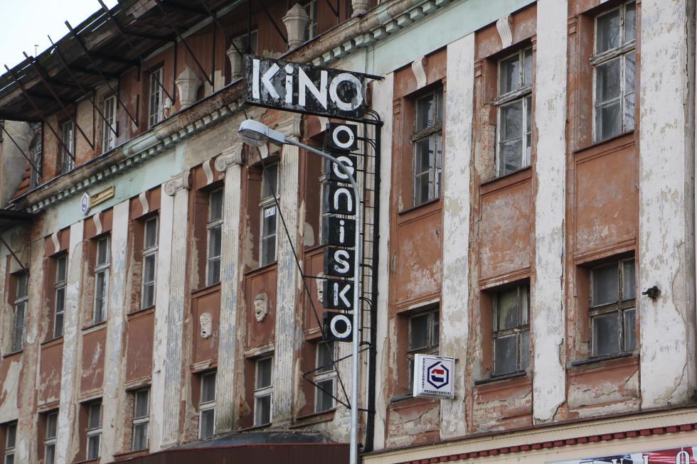 Budynek kina Ognisko wraca domiasta