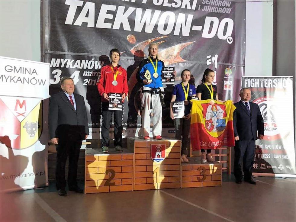 10 medali wPucharze Polski Seniorów iJuniorów Mykanów 2018