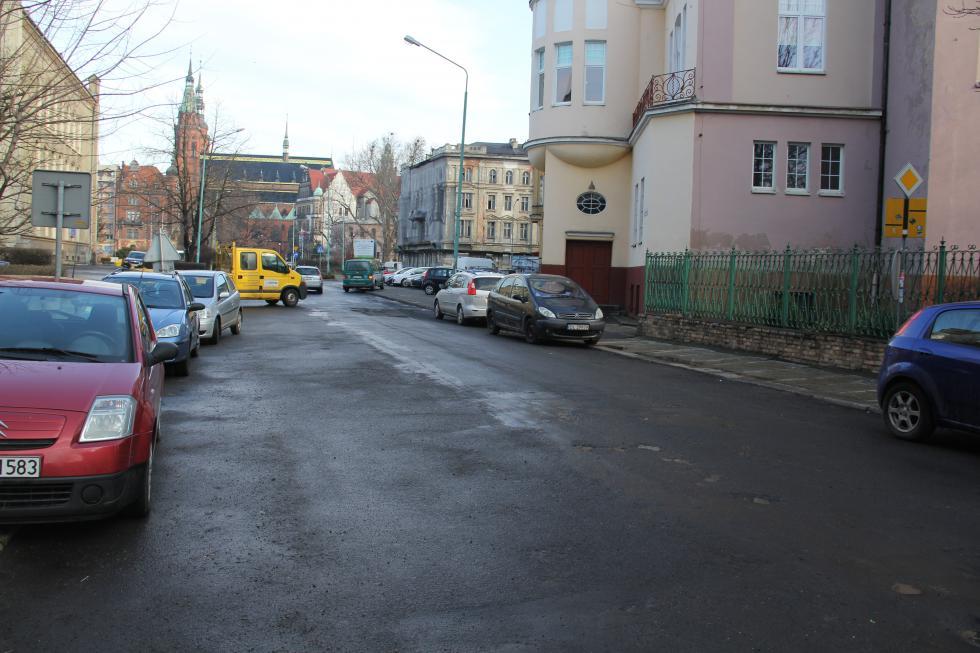 Przebudowa ul. Mickiewicza. Zmiana organizacji ruchu
