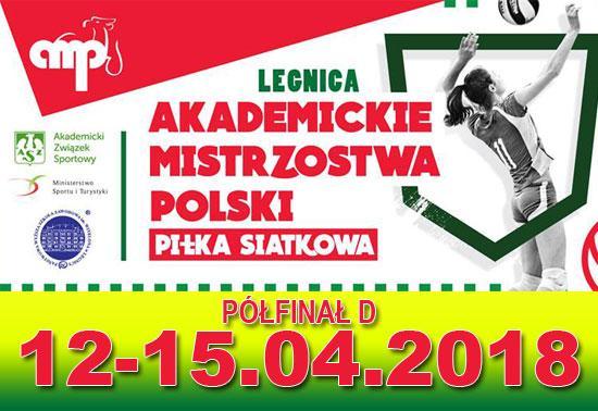 Akademickie Mistrzostwa Polski wPiłce Siatkowej Kobiet iMężczyzn - Półfinał D