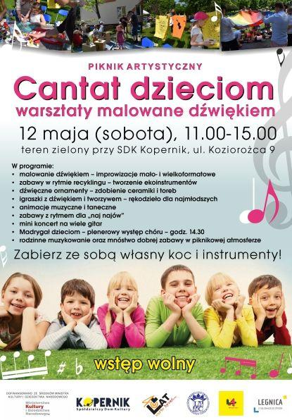 Legnica Cantat iartystyczny piknik dla dzieci