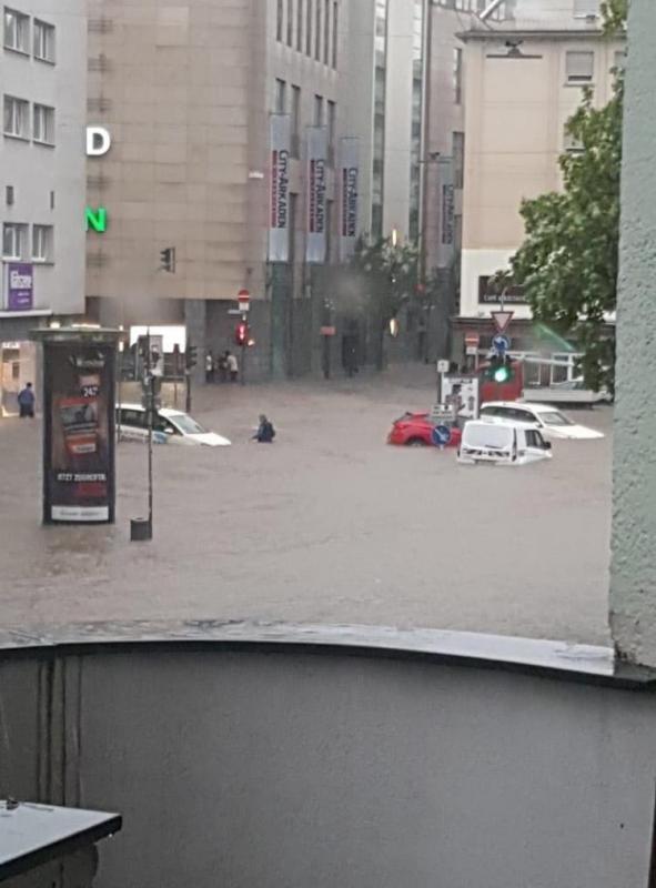 Nawałnica nad Wuppertalem. Prezydent Krzakowski zaproponował pomoc