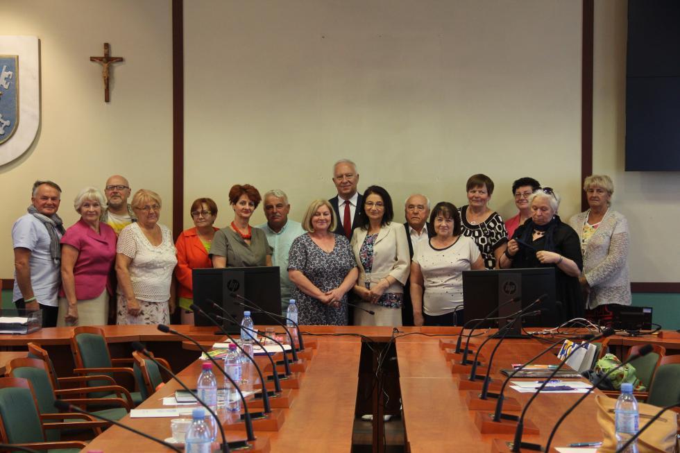 Miejska Rada Seniorów III kadencji wybrała swoje władze