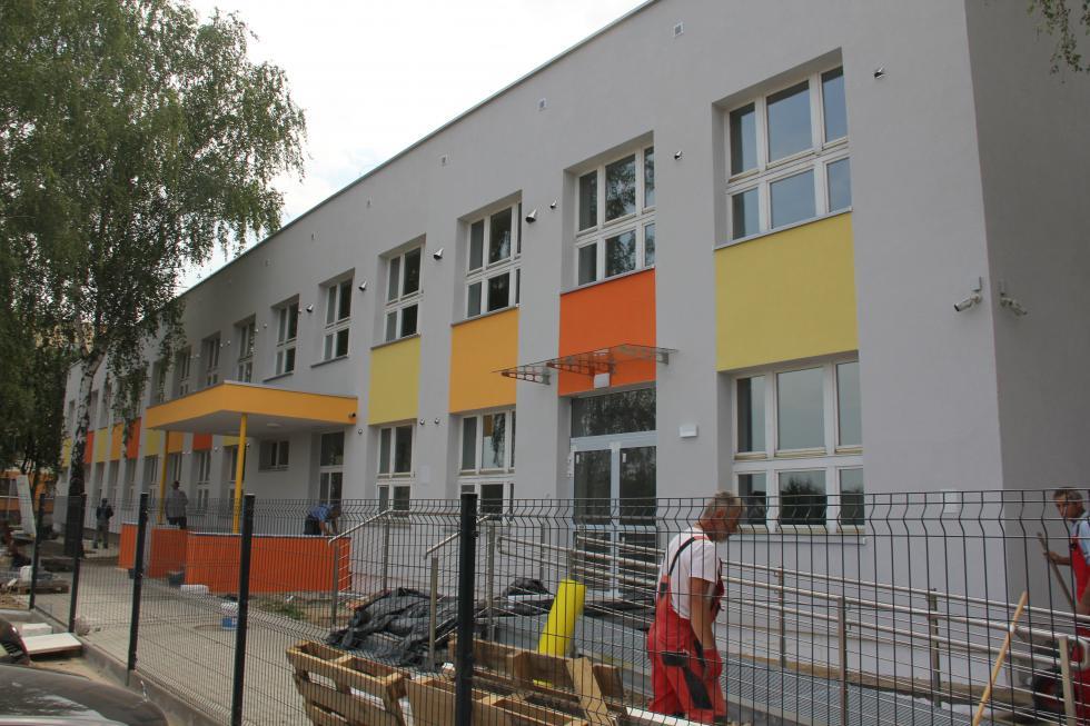 Nowe przedszkole iżłobek przy ul. Krzemienieckiej. Prace na ukończeniu