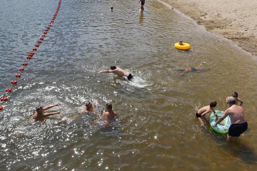 Dla ochłody wejdź dowody na legnickich kąpieliskach