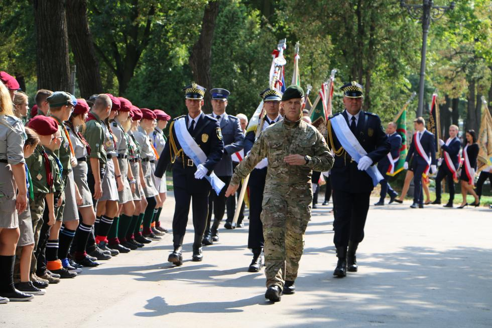 Legnica obchodziła 79. rocznicę napaści Niemiec na Polskę