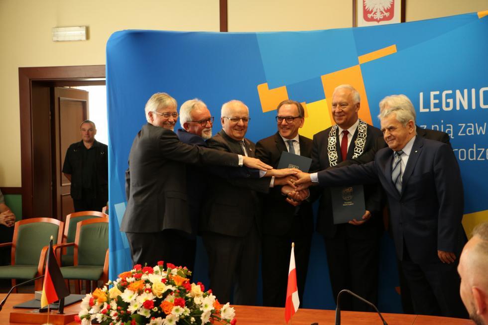 Obchodów jubileuszu partnerstwa Legnicy iWuppertalu ciąg dalszy