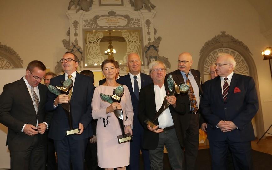 Laureaci Nagrody Kulturalnej Śląska wyróżnieni wLegnicy