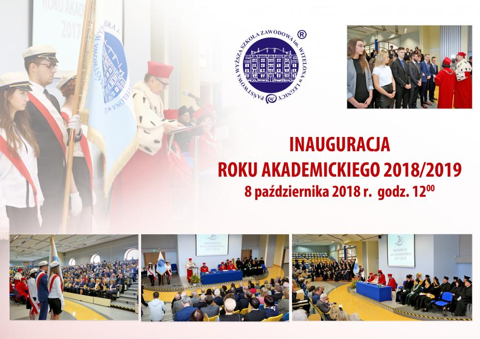 Inauguracja roku akademickiego 2018/2019 wPWSZ