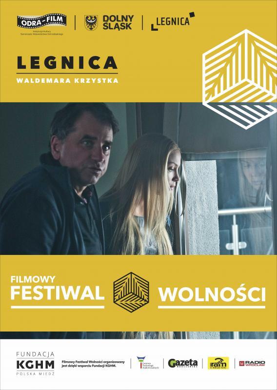 Waldemar Krzystek wlegnickiej odsłonie Festiwalu Wolności