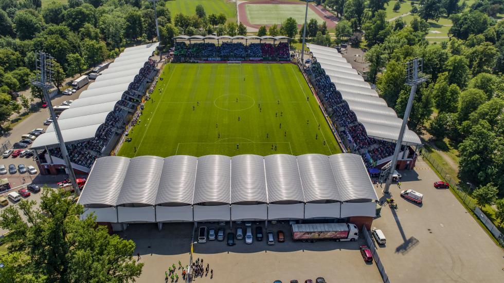 Prestiżowe wyróżnienie dla władz miasta za rozwój stadionowej infrastruktury