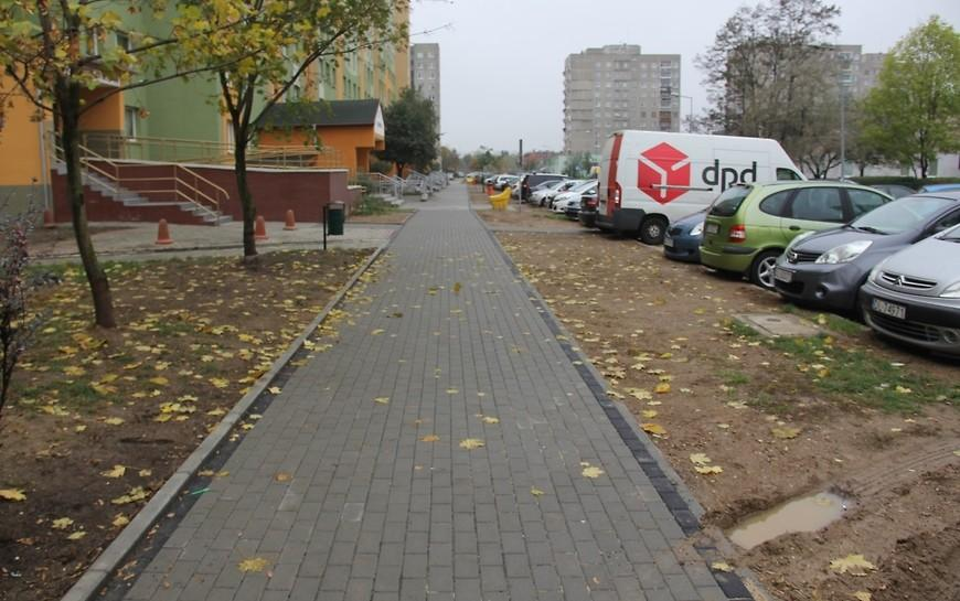 LBO 2018. Mieszkańcy Piekar mają kolejny nowy chodnik