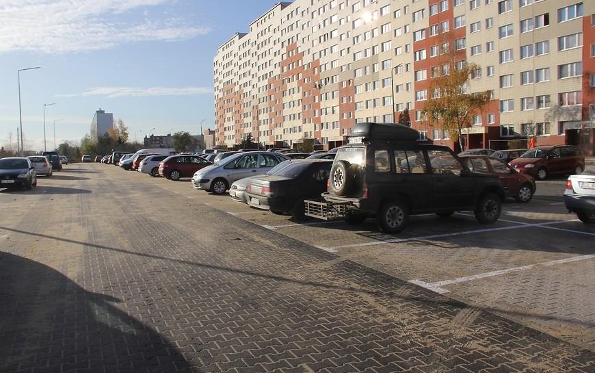 Kolejny nowy parking na osiedlu Kopernika już służy mieszkańcom