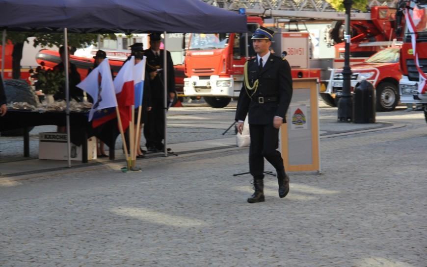 Wojciech Huk od1 lutego będzie dowodził legnickimi strażakami