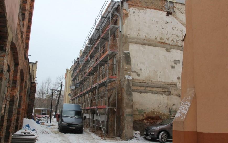 Remont kamienic przy ul. Henryka Pobożnego