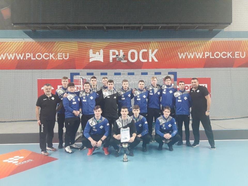 Juniorzy Siódemki Huras awansowali dofinału mistrzostw Polski