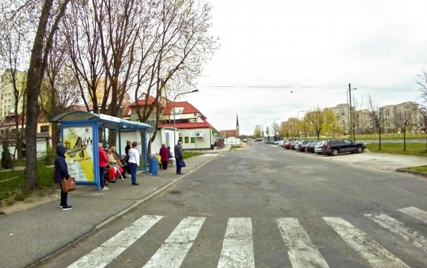 Ulica Śląska doprzebudowy