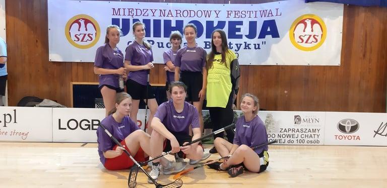Puchar Bałtyku - 6 miejsce unihokeistek z ILO Legnica wMistrzostwach Polski Szkół