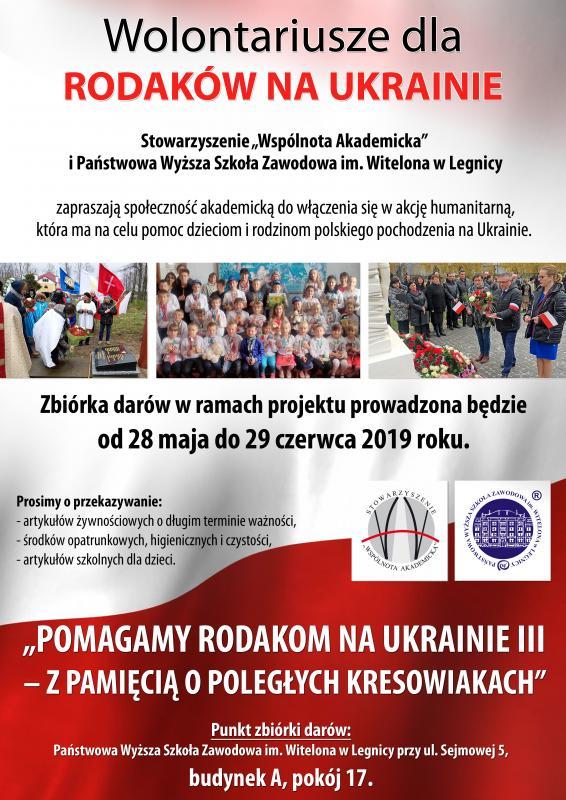 Wolontariusze dla Polaków na Ukrainie