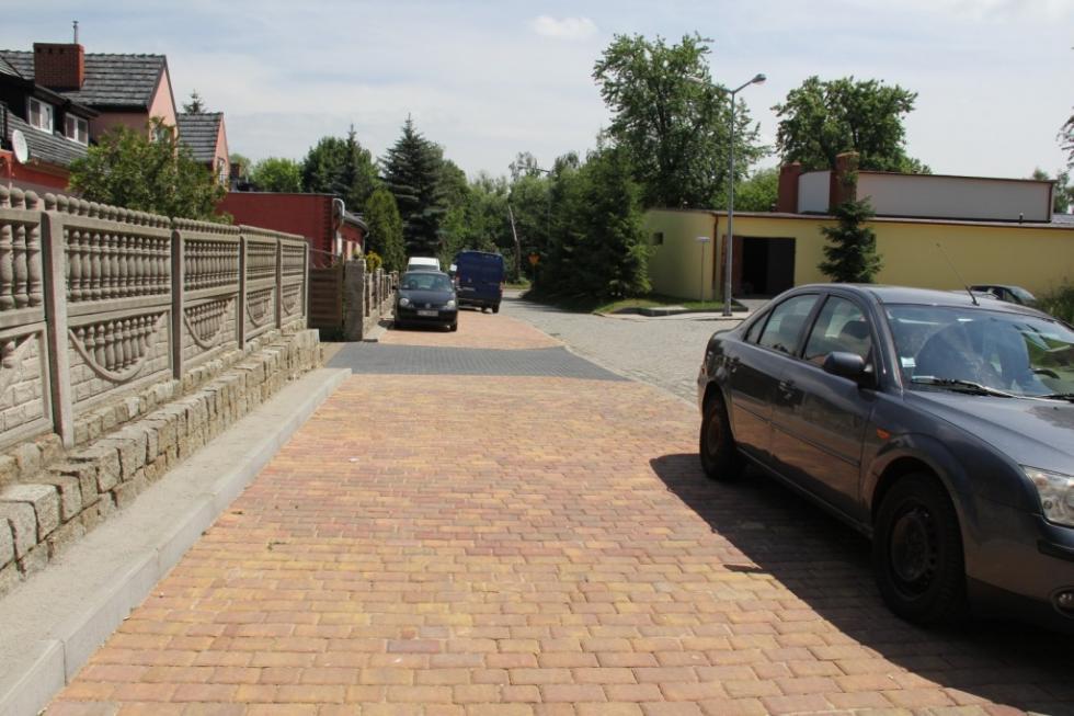 Nowy chodnik przy ul. Stanisławowskiej iLwowskiej