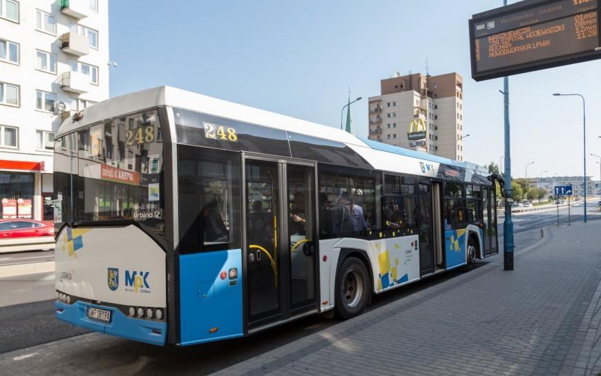 Odponiedziałku zmienia się rozkład jazdy miejskiej komunikacji