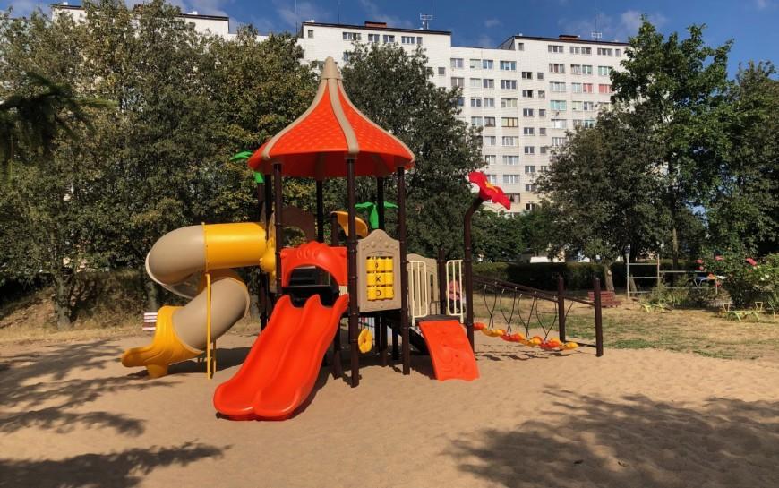 Nowy plac zabaw Miejskiego Przedszkola nr 12