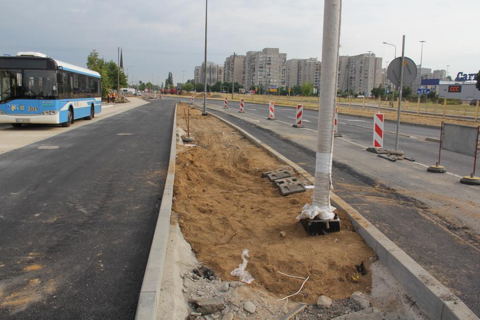 Przystanek autobusowy zul.  Śląskiej przeniesiony na ul. Sikorskiego
